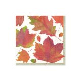 Watercolor leaves Ivory